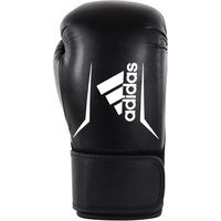 adidas Unisex – Erwachsene Speed 101 Boxhandschuhe, Black/White, 12