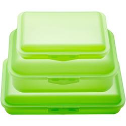 JAKO-O Brotdosen-Set, grün - grün