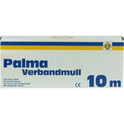 PALMA Verbandmull 80 cm 10 m zickzack Lagen 1 St