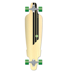 Flying Wheels Skateboard 38,5 Rig Natural skateboard cruiser