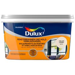 Dulux Holzlack Fresh Up, für Fensterrahmen und Holzverkleidungen, hell leinen, 2 l