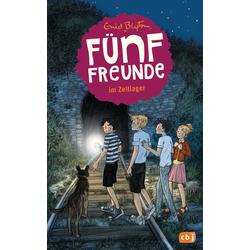 Fünf Freunde 07. Fünf Freunde im Zeltlager als Buch von Enid Blyton