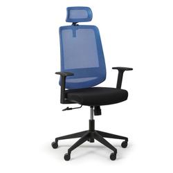 Bürostuhl rich, blau