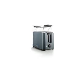 Lentz Toaster Toaster 700W, 2 Schlitz-Toaster, 700 W grau