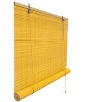 Victoria M Bambusrollo 90x160cm in bambus - Fenster Sichtschutz Bambus Rollos (ohne Klemmhalter) | Victoria M.