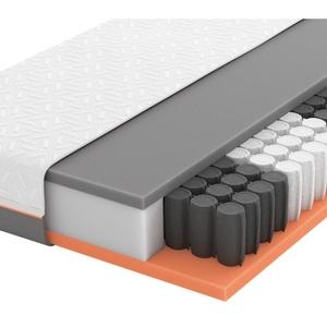 Schlaraffia Gel-Taschenfederkernmatratze Primus 250 TFK 90/200 cm , Primus 250 Tfk , Weiß , Textil , H2=mittel bis ca.80kg , 90x200 cm , Doppeltuch , Härtegradauswahl, Über- und Sondergrößen erhältlich, Bezug abnehmbar/waschbar, optimale Belüftung, für verstellbare Lattenroste geeignet, atmungsaktiv, alternative Größen erhältlich,Härtegradauswahl, Über- und Sondergrößen erhältlich, Bezug abnehmbar/waschbar, optimale Belüftung, für verstellbare Lattenroste geeignet, atmungsaktiv, alternative Größen erhältlic