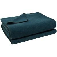zoeppritz Wohndecke Soft-Fleece, mit Häkeleinfassung blau 160 cm x 200 cm