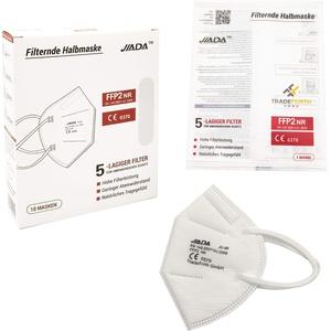 50 Stück FFP2 Maske CE zertifiziert, mit 5-lagigem Filtersystem, natürliches Tragegefühl, einzeln verpackt mit EU Konformitätserklärung
