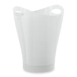 Umbra Papierkorb Garbino Metallic Weiß 9 L