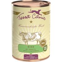 Terra Canis Classic Rind mit Karotte Apfel & Naturreis 12 x 800 g