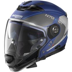 Nolan N70-2 GT Lakota N-Com Helm, blau, Größe XS