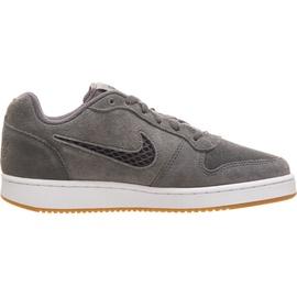 Nike Ebernon Premium Low dark grey/ white-gum, 37.5