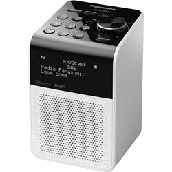Panasonic RF-D20BT Radio (Digitalradio (DAB), FM-Tuner mit RDS, 3 W) weiß