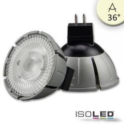 7W GU5,3 LED Vollspektrum COB 36° warmweiß 3000K, dimmbar EEK:  A+
