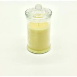 JOKA international Duftkerze Duftkerze im Glas mit Vanille Geruch, 8x15 cm