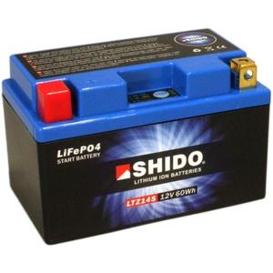 Batterie Shido Lithium LTZ14S / YTZ14S, 12V/11,2AH (Maße: 150x87x110) für Benelli Tornado Tre 1130 Baujahr 2010