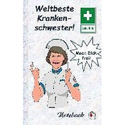 Weltbeste Krankenschwester Notebook
