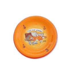 Mila Teller Mila Keramik-Teller Oommh Katze Chill mal wieder, (1 Stück)
