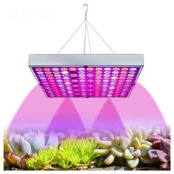 Rosnek Pflanzenlampe LED Wachstumslampe,25/45W,Vollspektrum,für Zimmerpflanzen Sämlinge Hydrokultur Gewächshaus