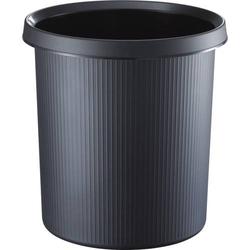 Objekt-Papierkorb 13l schwarz