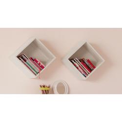 LIFETIME Utensilienbox aus Holz weiß mit Rollen - Original