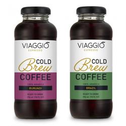 """Kalt gebrühter Kaffee Viaggio Espresso """"Cold Brew Burundi + Brazail"""", 592 ml"""