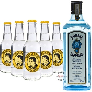 Bombay Sapphire Gin & Thomas Henry Tonic Set