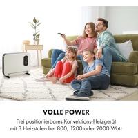 Klarstein Baltrum Flow Elektroheizung Konvektor 2000 W Standgerät