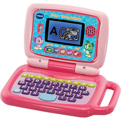 2-in-1 Touch-Laptop pink
