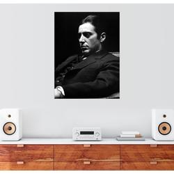 Posterlounge Wandbild, Der Pate, Al Pacino 100 cm x 130 cm