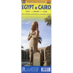 Egypt / Ägypten & Cairo 1:1.000.000 / 1:12.500