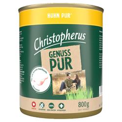 (4,12 EUR/kg) Christopherus Pur Huhn 800 g - 6 Stück