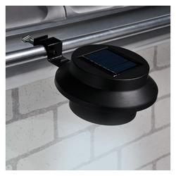 HI LED Dachrinnenleuchte HI Solare LED-Dachrinnen-Leuchten 2 Stk.