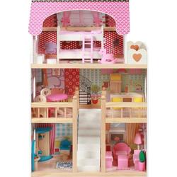 Puppenhaus aus Holz MIA inkl. Möbel 29510