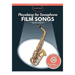 Guest Spot Playalong for Saxophone  Film Songs  For Alto Saxophone - Buch