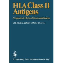 HLA Class II Antigens als Buch von