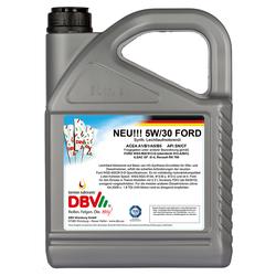 Synthetik  Motoröl DBV Ford 5W-30 5 Liter