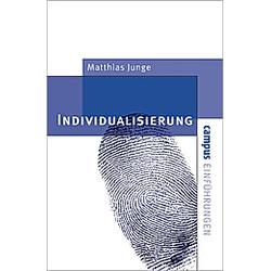 Individualisierung. Matthias Junge  - Buch