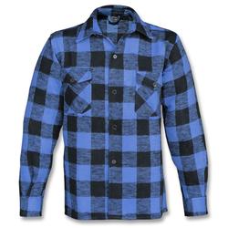 Mil-Tec Holzfällerhemd Thermo blau, Größe L