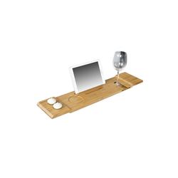 SoBuy Badewannenablage FRG104, Badewannenbrett Badewannenauflage Halterung / Halter für iPad oder Handys 70 cm x 15.5 cm