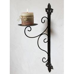DanDiBo Wandkerzenhalter Wandkerzenhalter 12111 Kerzenhalter aus Metall Wandleuchter 47 cm Kerzenleuchter