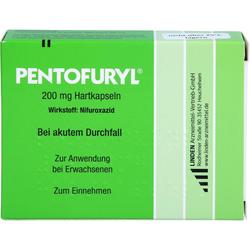 PENTOFURYL 200 mg Hartkapseln 12 St.