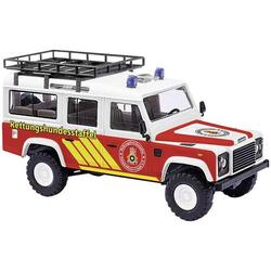 Busch 50370 H0 Land Rover Defender, Rettungshundestaffel