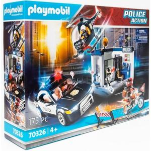 Playmobil 70326 Polizei Action Polizeistation Polizeiwache mit Gefängnis NEU OVP