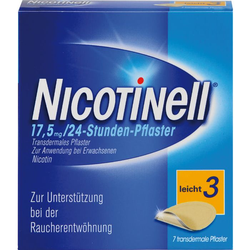 NICOTINELL 7 mg/24-Stunden-Pflaster 17,5mg 7 St.