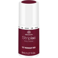 Alessandro Striplac Peel or Soak 127 midnight red 8 ml
