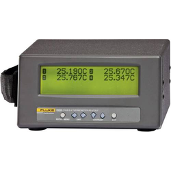 Fluke Calibration 1529-R-256 Temperatur-Messgerät -189 bis +960°C Fühler-Typ PRT, Thermoelement,