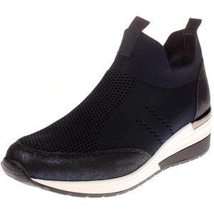 La Strada 1901764 - Damen Schuhe Freizeitschuhe - 4560-knitted-blue, Größe:41 EU