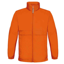 Kinder Regenjacke | B&C orange 12-14 (152/164)