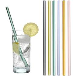 Trinkhalme aus farbigem Glas 14.2019.06